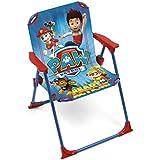 ARDITEX PW9506 La Pat'Patrouille Chaise pliante pour Enfant Tissu 38 x 32 x 53 cm
