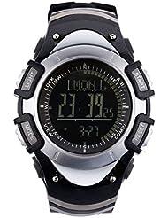 Sunroad fr8204b 3ATM impermeable altímetro brújula cronómetro barómetro podómetro deportes al aire libre reloj multifunción