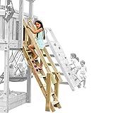 Demmelhuber Blue Rabbit 2.0 Anbaumodul Treppe @Steps für Spieltürme Leiter Spielturm Zubehör