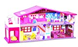 #4: Toyzone My Deluxe Doll House, Red (50 Pieces)