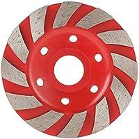 BXU-BG - Juego de 1 disco de lijado para piedras de cerámica, 100 mm