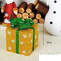 KYWBD Caja, Caja de Regalo de decoración de árbol de Navidad-D
