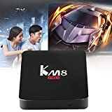 Android Smart Tv Box S912 64 Bit Octa Core KM8 Professional 2+8G Smart TV Box For Android 6.0
