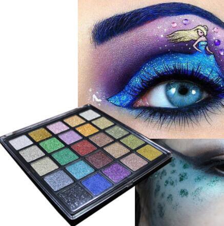 25 Couleurs Texturé Fard À Paupières Palette Maquillage Contour Mat Ombre À Paupières Palette, Imperméable À l'eau Et Pas Fondu