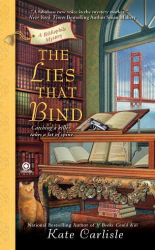 The Lies That Bind: A Bibliophile Mystery (English Edition) Carlisle Bay