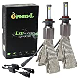 Green-L 9005 Scheinwerfer Birnen Auto LED Licht Headlight Bulbs Kit 90W 9000LM Super Helle Lampe