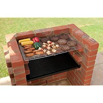 kit avec grille de chauffage pour barbecue en briques 67. Black Bedroom Furniture Sets. Home Design Ideas