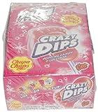 Chupa Chups Crazy Dips Erdbeere - 24 x 1 Stück