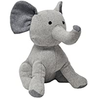 """Riva Paoletti Elephant Doorstop - Heavyweight Sand Filling - Polyester and Wool - 15 x 26 x 24cm (6"""" x 10"""" x 9"""" inches) - Designed in the UK"""