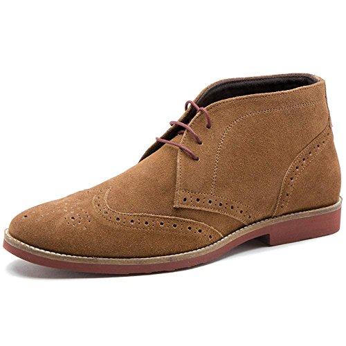 Red Tape Foxhill, Herren Desert Boots, Beige - Braun - Tan Suede - Größe: 48.5 EU