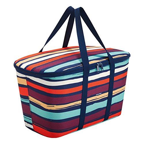 Reisenthel UH3058 coolerbag Artist Stripes, Polyester, Mehrfarbig, 44.5 x 25 cm