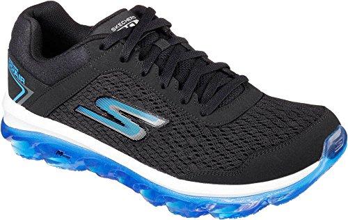 Skechers Go Air, Sneakers basses homme Black/Blue-BKBL