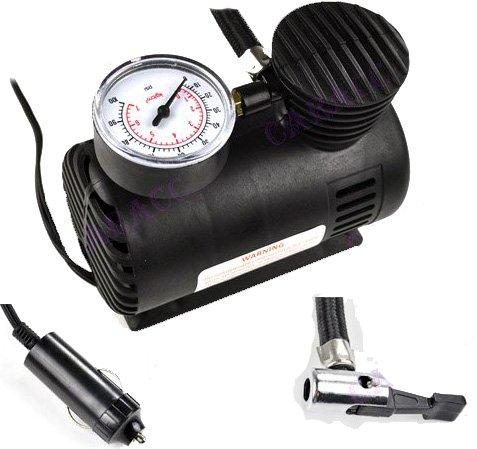 PowerPlus Tragbarer Kompressor 12 V Elektrische Pumpe / Luftpumpe -