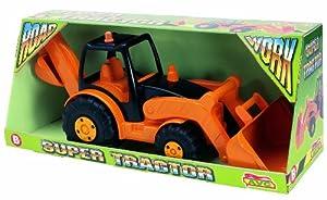 AVC - Tractor C/Pala Y Retro Obras Publicas En Caja