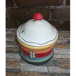 Gebäckdose Keksdose Dose für Süßes Keramik
