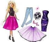 Barbie Mattel DJW58 - Modepuppen, Puppe und Modeset zum Kombinieren
