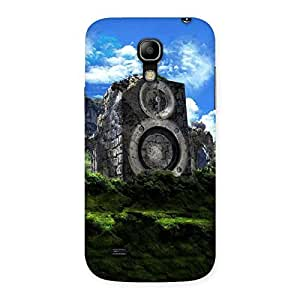 Delighted Mountain Range Speaker Back Case Cover for Galaxy S4 Mini
