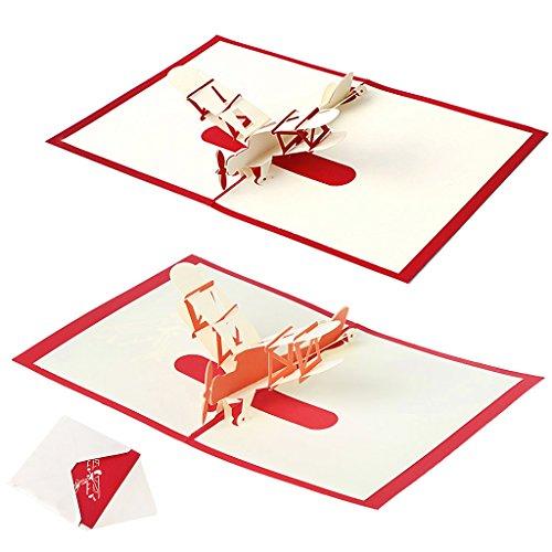 kalttoy 3D Pop up Grußkarte handgefertigt Happy Birthday Merry Christmas Karte