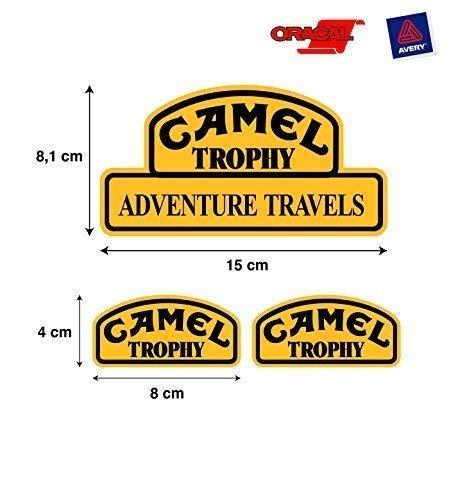 PEGATINA ADHESIVO CAMEL TROPHY LAND ROVER