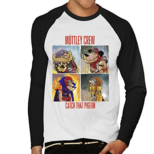 Muttley Crew Men's Baseball Long Sleeved T-Shirt