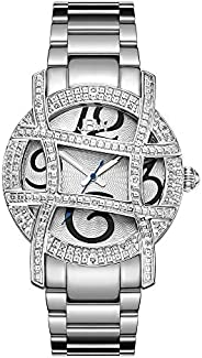 JBW Luxury Women's Olympia 20 Diamonds Cage Bezel Watch - JB-62