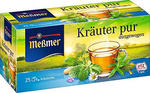 Meßmer Kräuter pur 25 Teebeutel, 50 g - Kamille Kraut