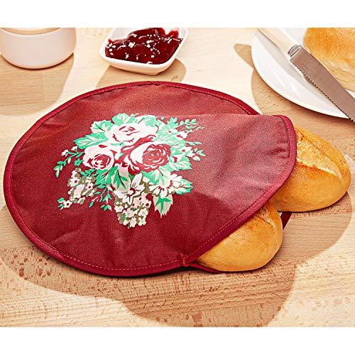 ärmtasche Brötchenbeutel Brötchenwärmer Brötchentasche Brot Brötchen Croissant ()