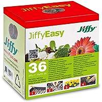 Pastillas/Tacos de Turba Prensada para cultivo Jiffy 7-36mm (36x)