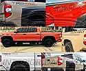 2018 2019 2020 Toyota Tundra TRD PRO Außenschutzblech-Zierleisten-Set mit Logo-Verzierungen