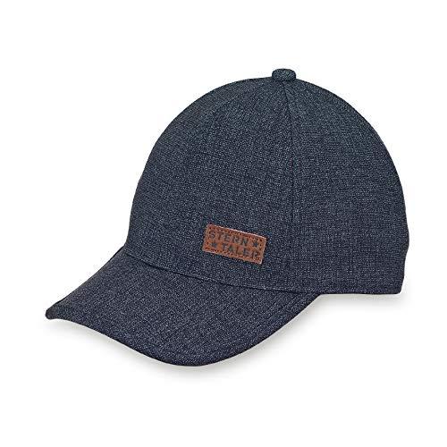 Sterntaler Baby-Jungen Baseball Cap Kappe Blau (Marine 300) Medium (Herstellergröße: 53)