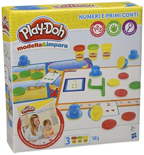 Play-Doh - Modella e Impara Numeri e Conti, B3406103