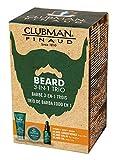 Clubman Pinaud Beard Pack Dreiteiliges Pflegeset für den Bart