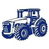 Sticker mural Tracteur Tracteur, Bleu roi (049), 75 x 53cm EUR 24,85