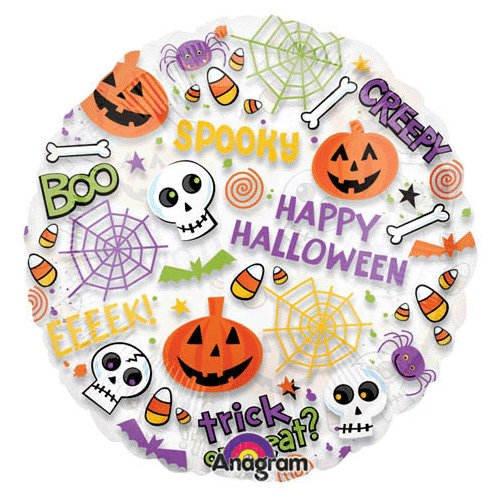 nballon Happy Halloween Spooktacular, 45 cm ()