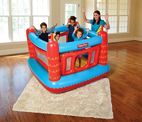1e15effd0 Fisher Price Inflatable Bouncy Castle Play House for Kids Children ...