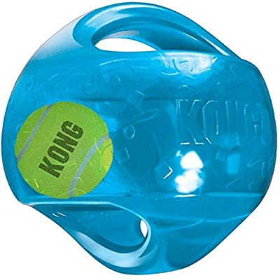 KONG Jumbler Football, Large/Extra Large_PARENT from KONG