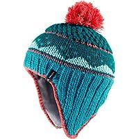 Vaude Knitted Cap Iv Forro Polar, Unisex Niños, Gris / Dragonfly, M