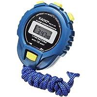 HARRYSTORE Stopwatch Handheld Digital LCD Timer Sport Counter Odometer Watch Alarm