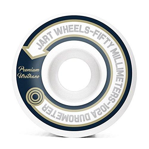 Jart monopatín Elegance ruedas de monopatín, 102A 50mm), color blanco