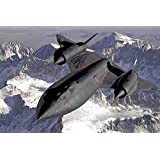 MNTC Paper Poster Fighter Jet Plane(Vinyl Paper Size 36 X 24 Inch)