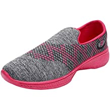 2ROW Women's Knitted Pink Sports Running Shoes