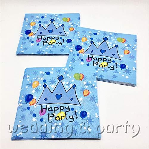 ma Servietten Kids Favors Banner Baby Dusche Tischdecke Geburtstag Party Dekoration Platten Prinzessin Cups Supplies ()