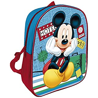 ARDITEX Mickey Mouse Rucksack Kinder, 28 cm, blau