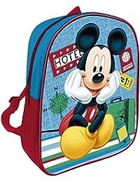 Mickey Mouse - Mochila infantil Disney 28x22cm