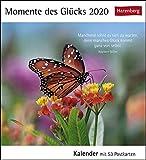 Momente des Glücks Postkartenkalender 2020. Wochenkalendarium. Blockkalender. Format 16 x 17,5 cm -