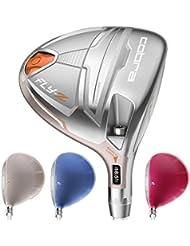 Cobra Golf flyz Fairway Madera Mujer Derecho Mano Color Plata, # 7–9(23° de 26°), Ladies Flex