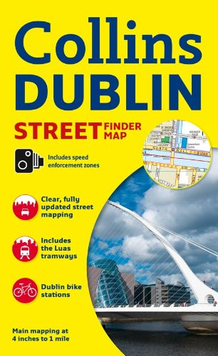 Collins Dublin Streetfinder Colour Map (Collins Travel Guides)
