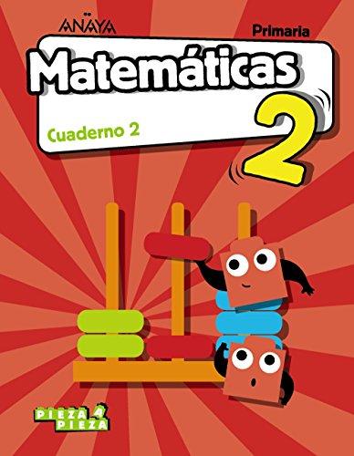 Matemáticas 2 cuaderno 2 (pieza a pieza)