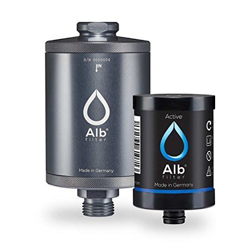 Titan Kaffeemaschine (Alb Filter® Active Trinkwasser-Filter reduziert Schadstoffe, Schwermetalle, Mikro-Plastik. Made in Germany Titan)