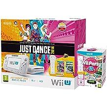 Nintendo Wii U 8Gb Just Dance, Wii Party U & Nintendoland Pack (Nintendo Wii U) [Importación Inglesa]